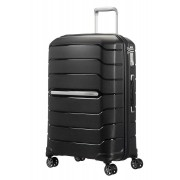 Samsonite Flux 68cm Medium 4-Wheel Spinner Suitcase - Black