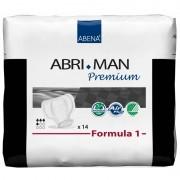 Abena - Abri-Man Formula Pack de 12 sachets de Abri-Man Premium Formula 1