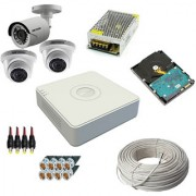 OMRC Hikvision 4CH DVR DS-7A04HGHI-F1/ECO 1MP Bullet DS-2CE1AC0T-IRPF/ECO 1 No. 1MP Dome DS-2CE5AC0T-IRPF/ECO 2 No