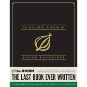 The Onion Book of Known Knowledge by The Onion
