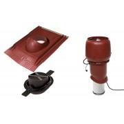 Vilpe 1002 tetőventilátor szett páraelszívókhoz - vörös