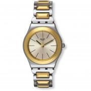 Reloj Swatch YLS181G-Plateado Con Dorado