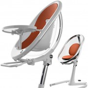 Moon 2G Highchair - White/Crystal