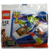 Toy Story 3 Lego 30070 Disney Pixar Alien and Space Ship (34Pcs) Bagged (Green)