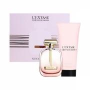 Nina Ricci L'extase Caresse De Roses 50ml Apă De Parfum + 100ml Loțiune de corp Set