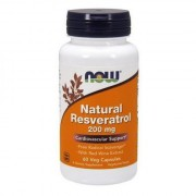 Natural Resveratrol 200mg - 60 vcaps