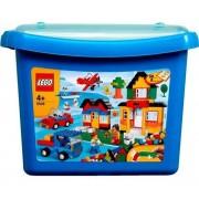 Lego 5508 - Construction Créative - Boîte Briques De Luxe : Bleu