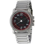 Fastrack Quartz Black Dial Mens Watch-3039SM08
