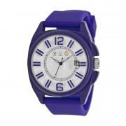 Crayo Sunset Unisex Watch w/Magnified Date - Purple CRACR3303