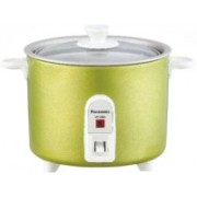 Panasonic SR-3NA (T) Rice Cooker, Travel Cooker(0.3 L, Apple Green)