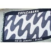 CA-RIO-CA Copacabana Canga Beach Towel Black/White CRC-C100001
