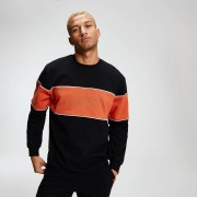 MP Rest Day Men's Stripe Sweatshirt - Black - XS