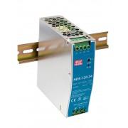 DIN sínre szerelhető LED tápegység Mean Well NDR-120-12 120W 12V