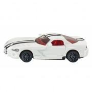 Dodge Viper witte speelgoed auto 1434 Siku