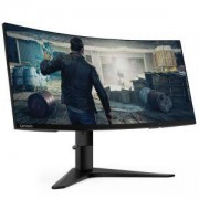 Монитор Lenovo G34w-10 34 QHD VA WLED (3440 x 1440) 1500R Curved Gaming Monitor, 4ms, Anti-glare, VESA, Black, 66A1GACBEU
