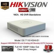 HIKVISION DS-7116HGHI-E1 Turbo HD 720P 16Ch. Tribrid HD DVR Standalone
