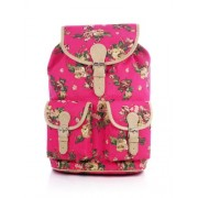Shaun Design Women's Backpack Handag( Pink, Bb4001P)