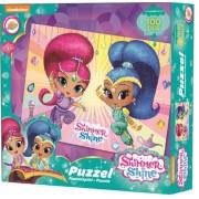 Shimmer és Shine puzzle 100 db, lányoknak