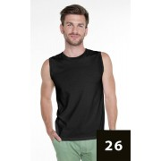PROMOSTARS Pánské tričko bez rukávů M SHORT 21340 - PROMOSTARS tmavě modrá M