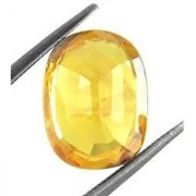 Jaipur Gemstone 6.00 ratti yellow sapphire(pukhraj)