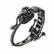 Ametallo Bracelets Exotic Mens Re Leone 0066bk Stainless Steel 316l