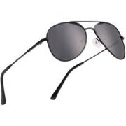 Royal Son Black Polarized Unisex Latest Goggles (Uv Protected Aviator Sunglasses For Men Women)