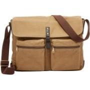 Fossil Buckner Messenger Bag(Brown, 17 L)