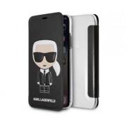 Apple Karl Lagerfeld Booktype Ikonik Black For Apple iPhone X/Xs