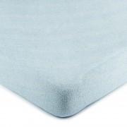 Cearșaf pat 4Home, din bumbac, albastru deschis, 160 x 200 cm, 160 x 200 cm