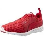 Puma Women's Carson Runner Quilt Wn s Lipstick Red and Black Mesh Running Shoes - 5 UK/India (38 EU)