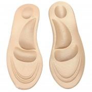 Plantilla 4D Soft Arch Support Resistente al olor Absorbe el sudor Plantilla transpirable