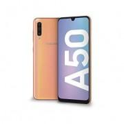 "Samsung Smartphone Samsung Galaxy A50 Sm A505f Dual Sim 128 Gb Octa Core 6.4"" Super Amoled 25 + 5 + 8 Mp 4g Lte Wifi Bluetooth Refurbished Coral"