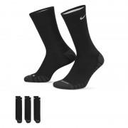 Chaussettes de training Nike Dry Cushion Crew (3 paires) - Noir