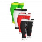 Compressport R2v2 Race and Recovery Calf Guard - T3/L - Red