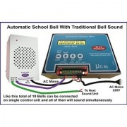 SuperSynch Automatic Ringing School Bell with Sound Box