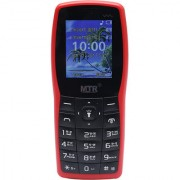 MTR MT 1101 DUAL SIM MOBILE PHONE IN BLACK AND RED COLOR