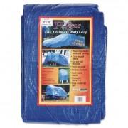Multiple Use Tarpaulin, Polyethylene, 20 Ft X 30 Ft, Blue