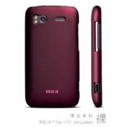 ROCK Nakedshell Case for HTC Sensation - HTC Hard Case (Burgundy Red)
