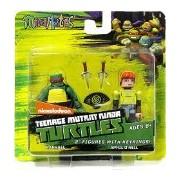 Teenage Mutant Ninja Turtles Nickelodeon Minimates Raphael & April ONeil Minimates Keychains (Diamon