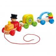 Triple Play Train (Pull, Push & Explore) by Hape
