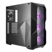 Gabinete Cooler Master Masterbox TD500 ATX / sin fuente / negro / RGB, MCB-D500D-KANN-S00