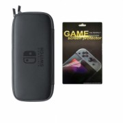 Nintendo Husa De Protectie Consola Cu Screen Game Protector Negru - 131