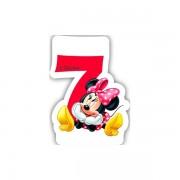 Lumanare party cifra 7 Minnie