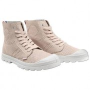 Palladium Light Leder-Boots, 38 - Rosé