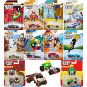 Looney Tunes Cartoon Exclusive Hot Wheels Die-Cast cars Bugs Bunny / Daffy Duck / Michigan J. Frog / Marvin Martian / Wile E. Coyote / Road Runner / Tazmanian Devil / Yosemite Sam + Character cars
