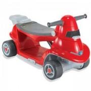Детска кола за бутане и скутер 2 в 1, smarTrike, червена, 011010