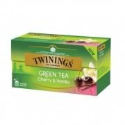 Twinings Ceai Verde cu Cirese si Vanilie 25 plicuri x 1.7g