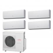General Fujitsu Fujitsu Climatizzatore 4 x ASYG07LUCA AOYG30LAT4 Quadri Split Serie LUCA 7+7+7+7 Btu