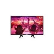 Smart TV LED 43 43PFG5102/78 Philips, Full HD HDMI USB com Wi-Fi Integrado