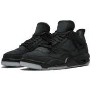 Air Sports Jordan Kaws Retro 4 Basketball Shoes For Men(Black)